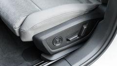 Audi A6 Avant 55 tfsi e quattro: la regolazione elettrica dei sedili dispone anche di memorie