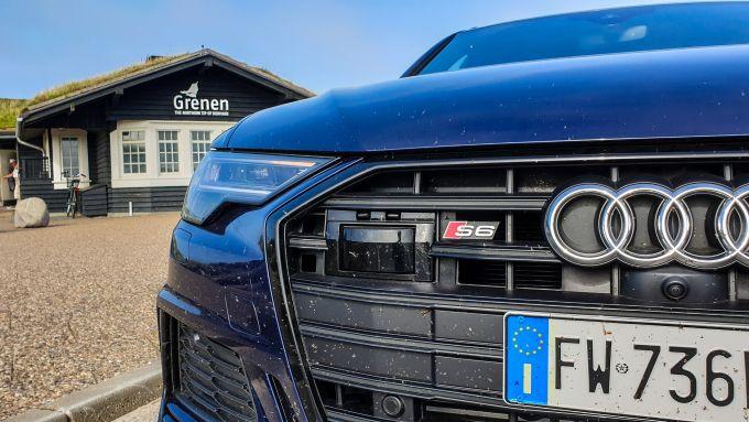 Audi A6 Avant: i sensori del cruise control adattivo