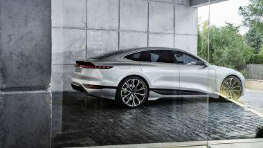 Audi A6 Concept: la berlina elettrica a Milano fino al 25 settembre
