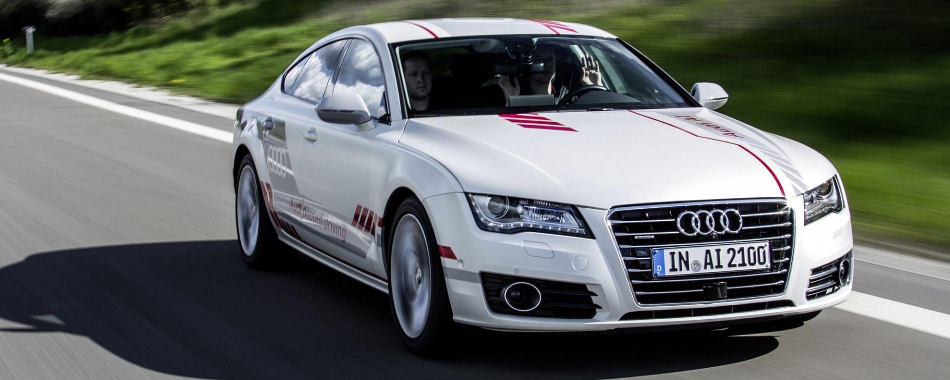 Audi A7 concept Jack: avanti con la guida autonoma