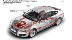 Audi A7 concept Jack: avanti con la guida autonoma - Immagine: 18