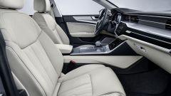 Audi A7 Sportback 2018 silver: dettaglio del sedile
