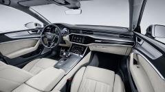 Audi A7 Sportback 2018 silver: la plancia