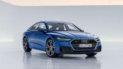 Audi A7 Sportback 2018: vista 3/4 anteriore