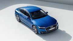 Audi A7 Sportback 2018: vista 3/4 dall'alto