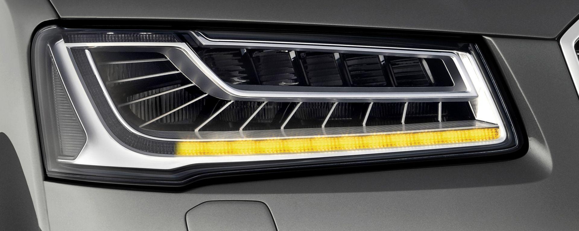 Audi A8 2014: al suo arco c'è una nuova... freccia