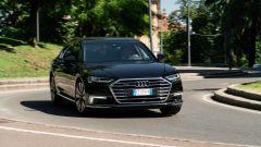 Audi A8 60 TFSI e plug-in: doppia motorizzazione, 449 CV