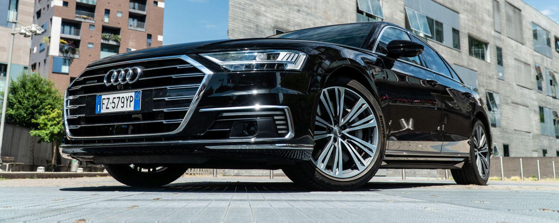 Audi A8 60 TFSI e plug-in: la prova dell'ammiraglia di Ingolstadt