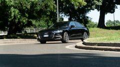 Audi A8 60 TFSI e plug-in: visuale di 3/4 anteriore