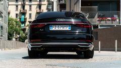 Audi A8 60 TFSI e plug-in: visuale posteriore