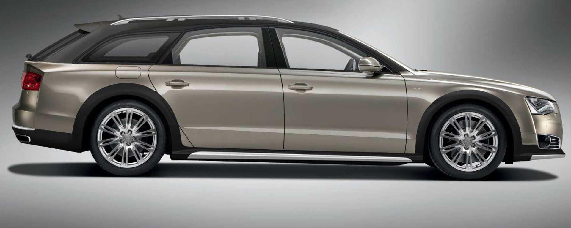 Curiosità di Natale: Audi A8 Avant Allroad W12 by Castagna