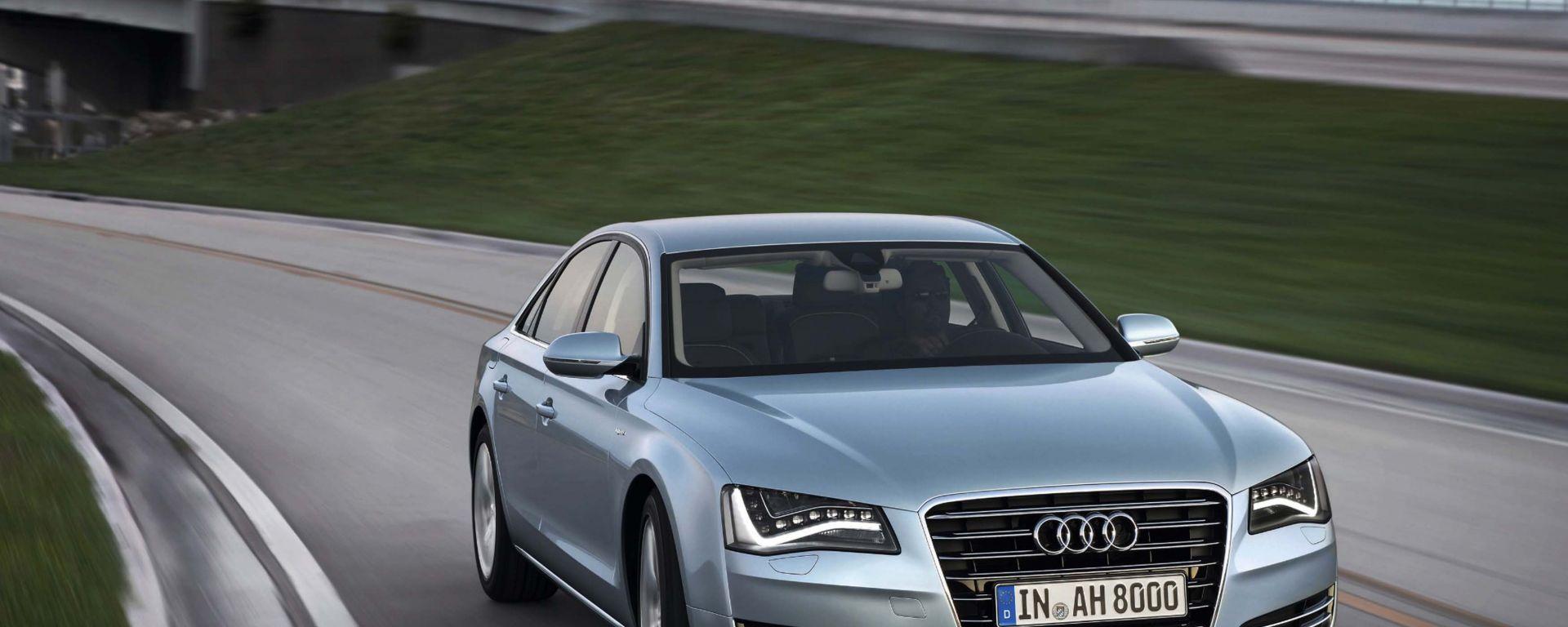 Audi A8 e A8L Hybrid