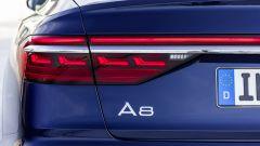 Audi A8, fari posteriori OLED