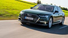 Audi A8 L 60 TFSI e quattro, arriva l'ibrida plug-in. Prezzo
