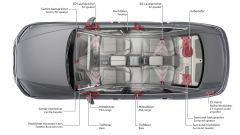 Audi A8: lo schema del Bang & Olufsen Advanced Sound System