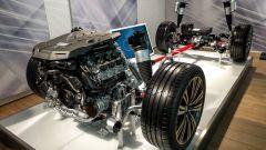 Audi A8 Mild Hybrid: la foto del drivetrain