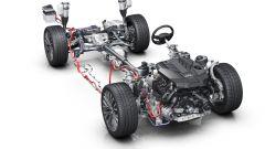 Audi A8 Mild Hybrid: lo schema meccanico