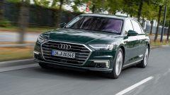 Audi A8 plug-in hybrid, 46 km di autonomia in elettrico
