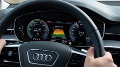 Audi A8 plug-in hybrid, il quadro strumenti digitale