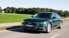 Audi A8 plug-in hybrid, potenza complessiva di 449 cv
