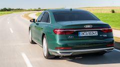 Audi A8 plug-in hybrid, prima A8 ibrida plug-in