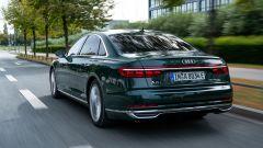 Audi A8 plug-in hybrid, vista posteriore