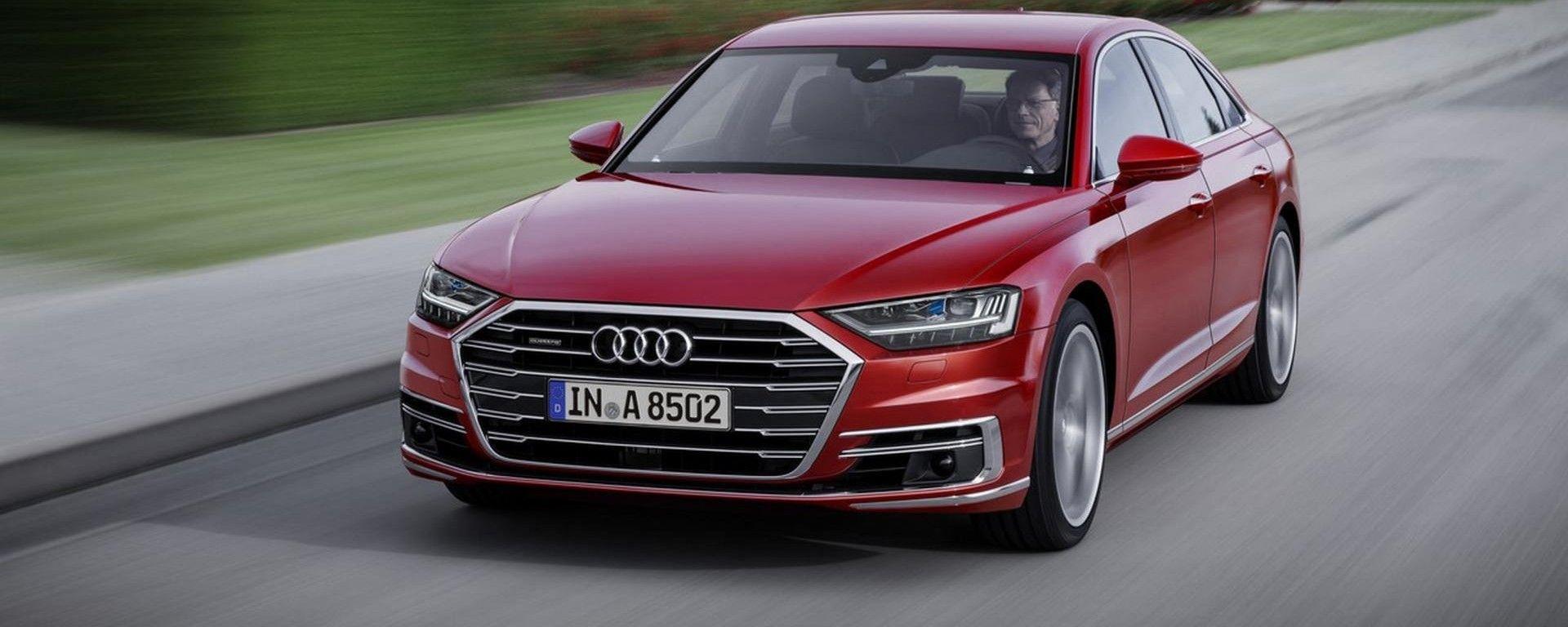 Audi A8, prima auto di serie a guida autonoma di livello 3