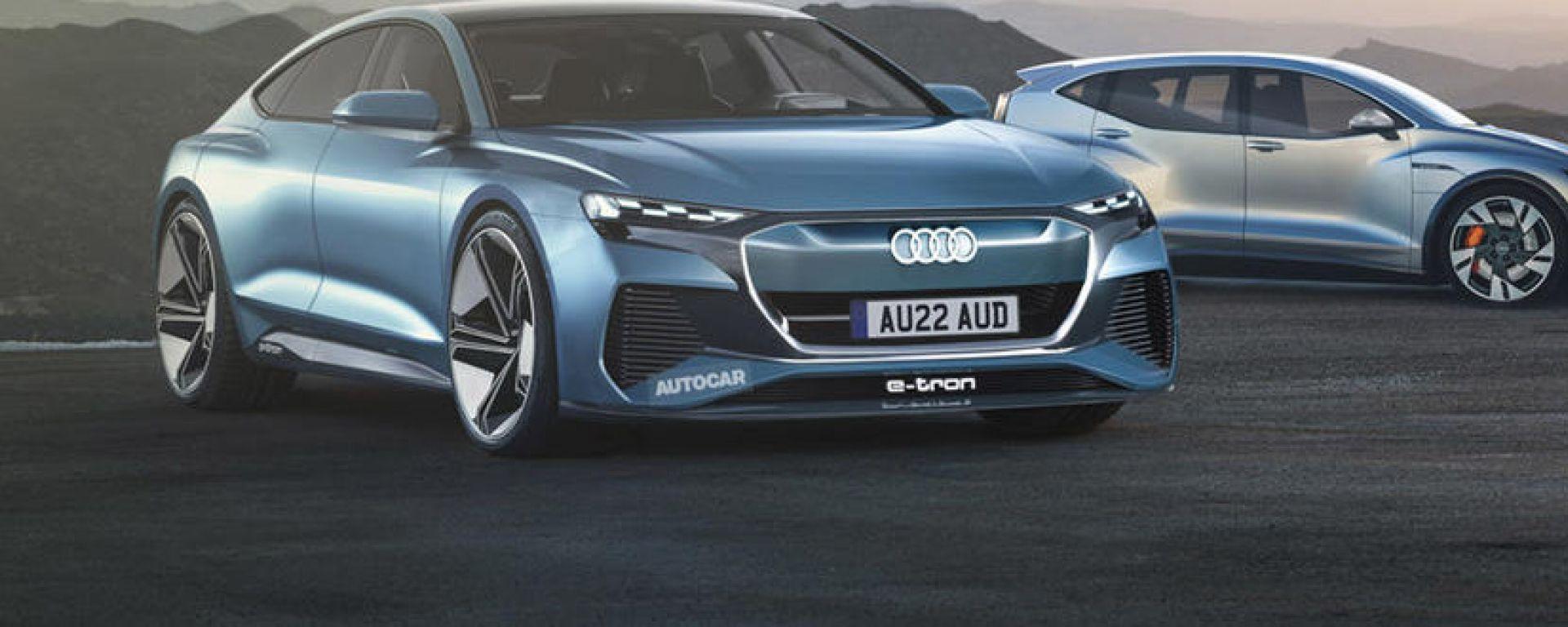 Audi A9 e-tron, nel 2024 l'elettrica rivale di Mercedes EQS?