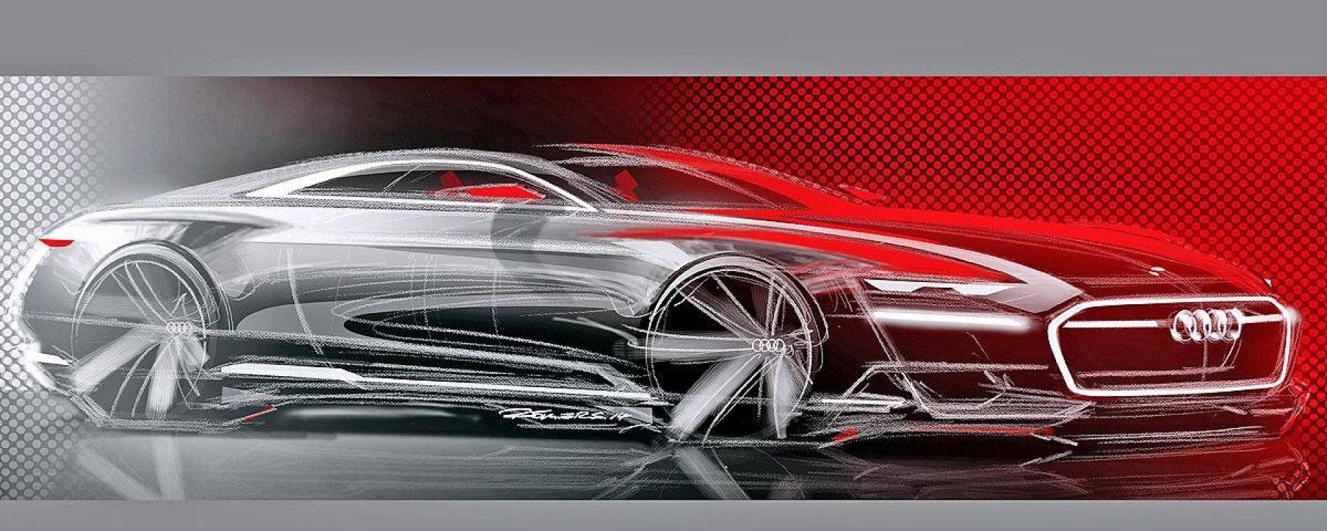 Audi A9: l'ammiraglia elettrica degli Anelli