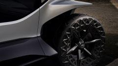 Audi AI Trail Quattro, i maxi pneumatici