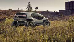 Audi AI Trail Quattro, la fiancata