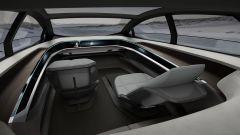 Audi Aicon, via volante e pedaliera