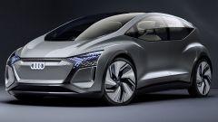 Audi AI:ME concept: vista di 3/4 anteriore