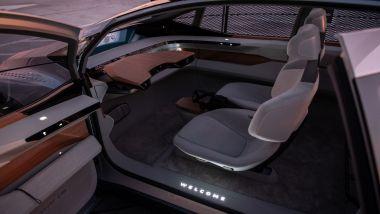 Audi AI:ME, gli interni