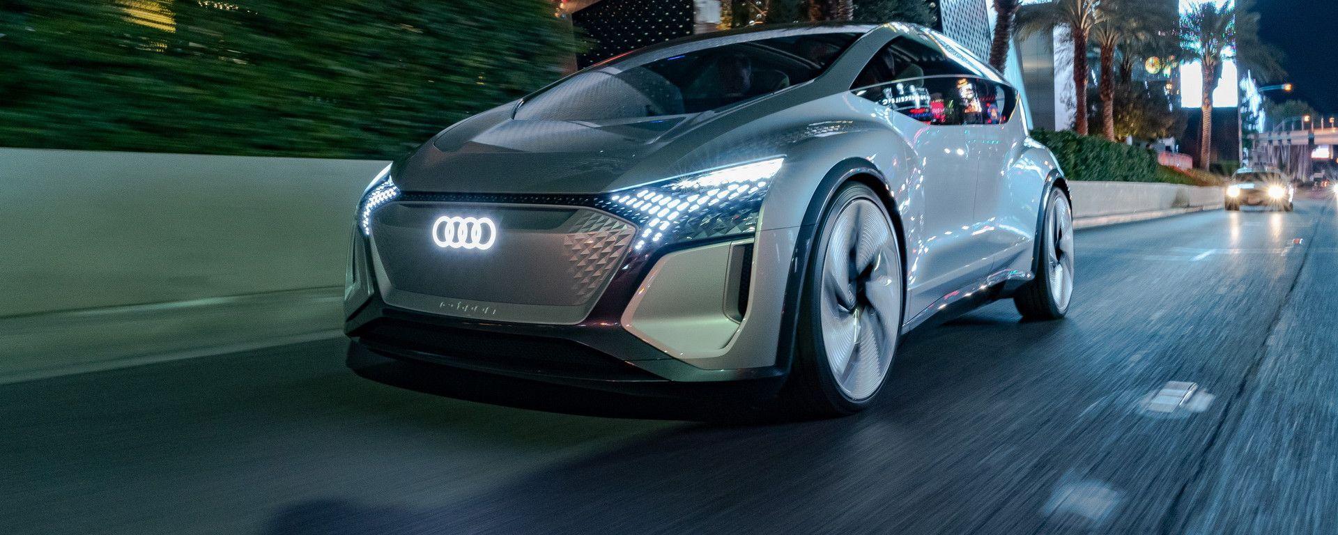 Audi AI:ME, la concept a guida autonoma presentata al CES