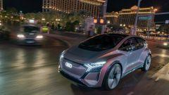 Audi AI:ME sulla mitica Strip di Las Vegas