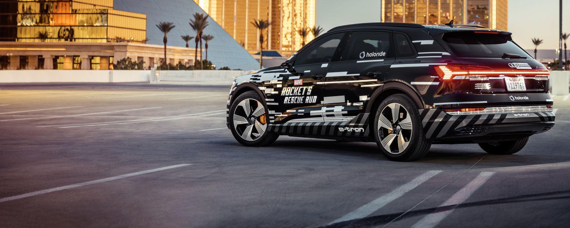 Audi al CES 2019: e-tron