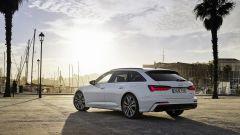 Audi Avant TFSI e quattro: il motore è un 2.0 litri benzina abbinato ad un'unità elettrica per un totale di 367 CV e 500 Nm di c