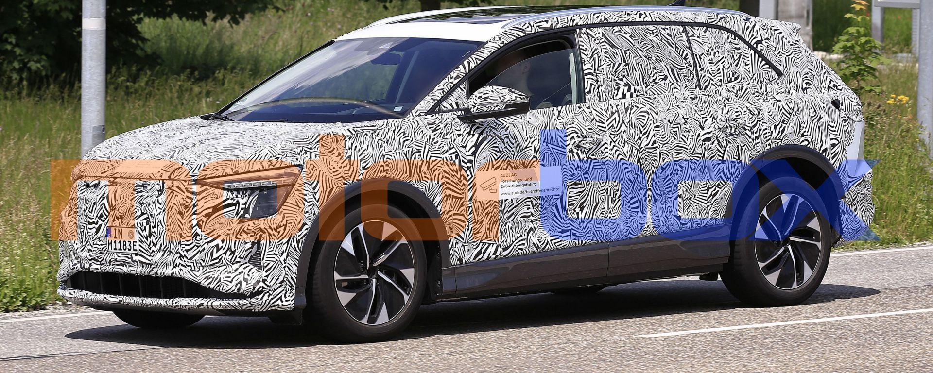 Audi Concept Shanghai: le prime immagini del SUV nuovo elettrico
