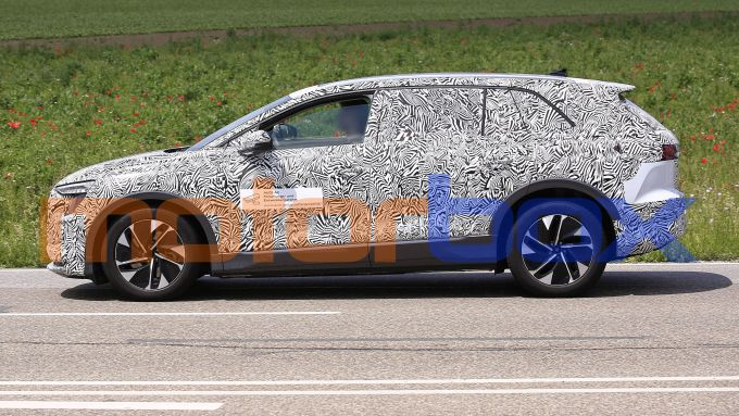 Audi Concept Shanghai: visuale laterale