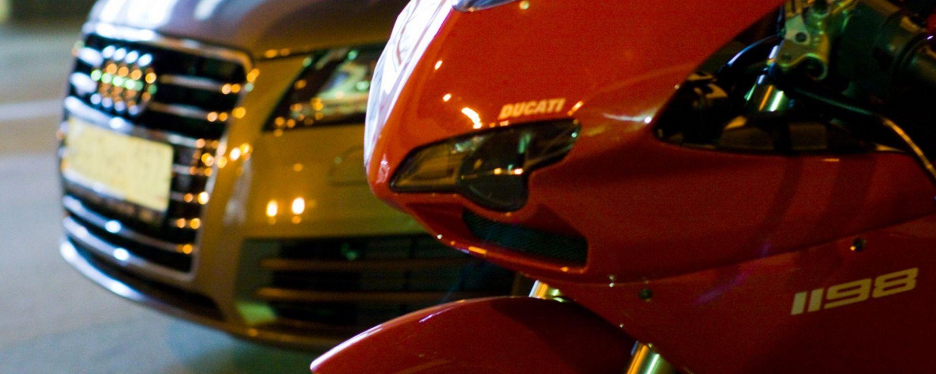 Audi-Ducati, il matrimonio non si scioglie