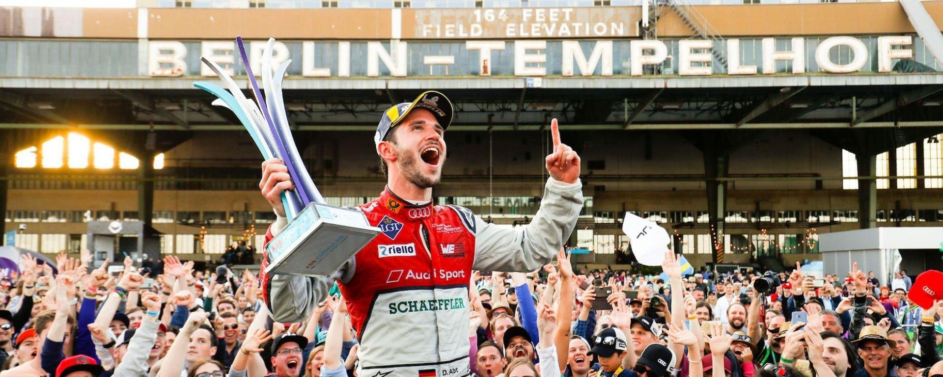 Audi e Abt conquistano la gara di casa all'EPrix di Berlino