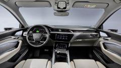 Audi e-tron 50 quattro, gli interni