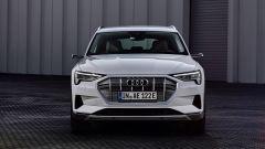 Audi e-tron 50 quattro, vista il frontale