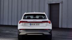 Audi e-tron 50 quattro, vista il posteriore