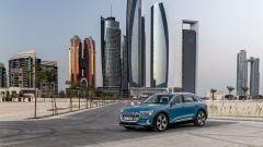 Audi e-tron ad Abu Dhabi