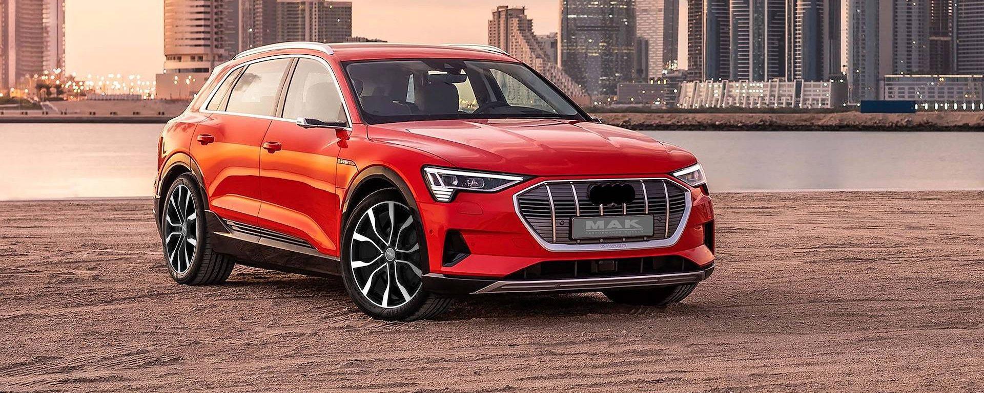 Audi e-Tron con Mak Wheels