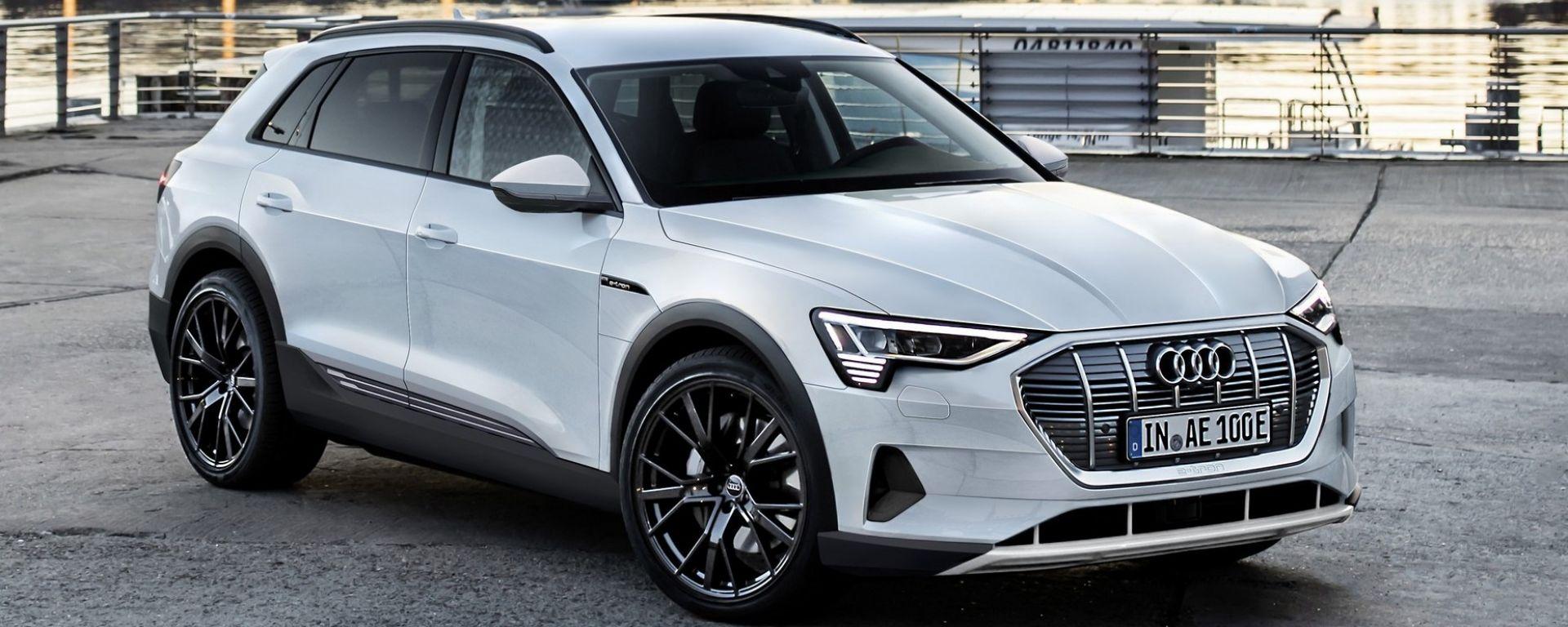 Audi e-tron, ecco un'ipotesi del suo aspetto definitivo