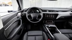 Audi e-tron, gli interni