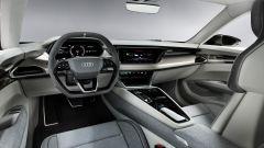 Audi e-tron GT concept: gli interni
